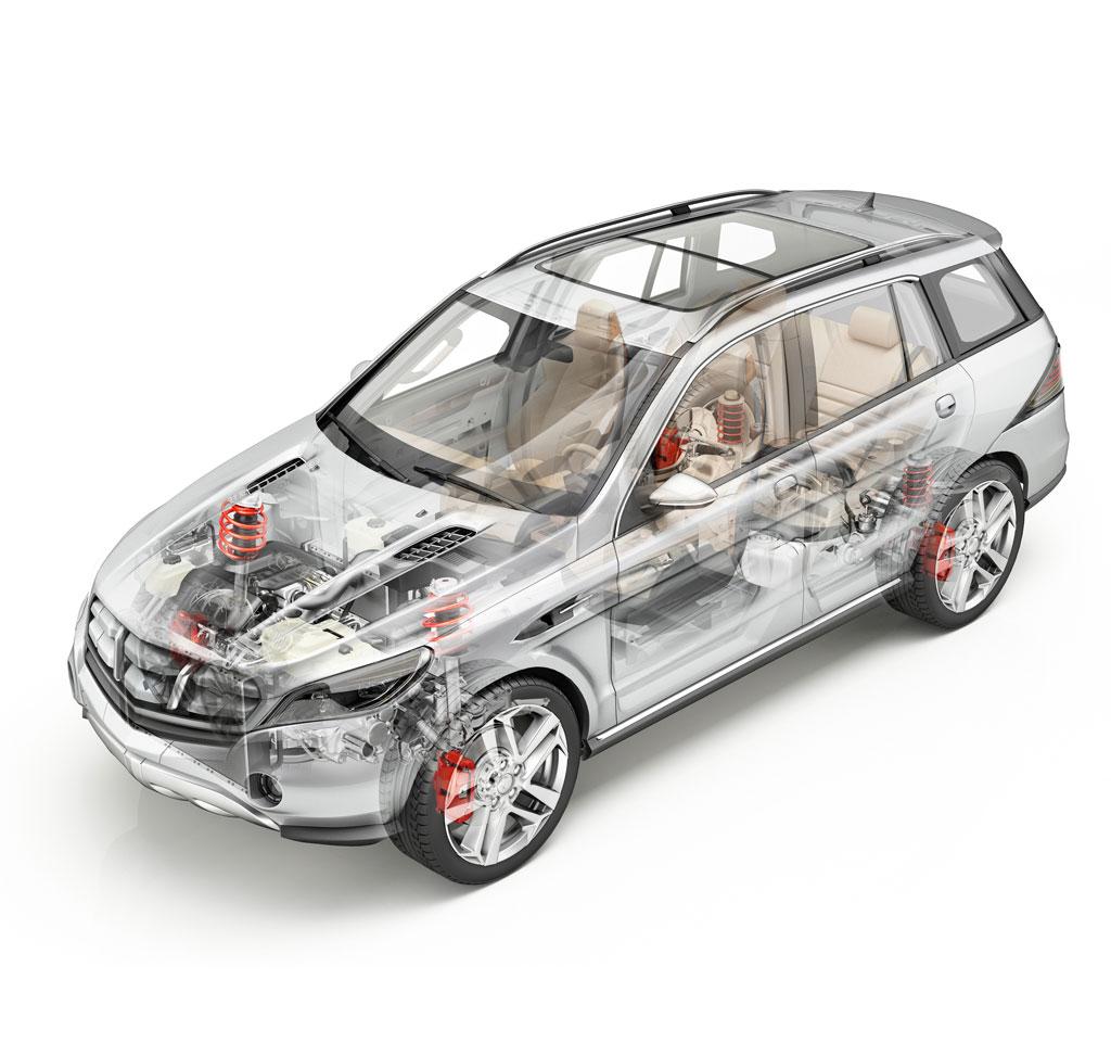 componenti e sistemi per l'industria automobilistica,